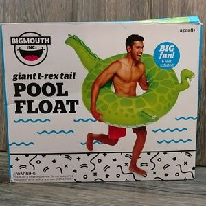BIGMOUTH Giant T-rex Dinosaur Tail Pool Float